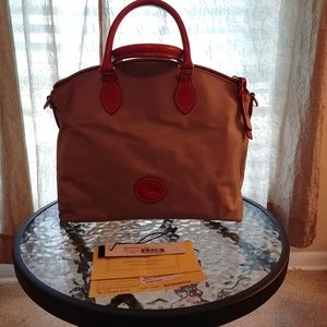 Nylon satchel